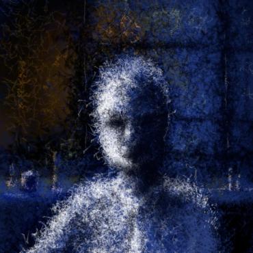#mjbartist-blueman-digital-painting