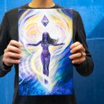 mycobowen holding canvas print